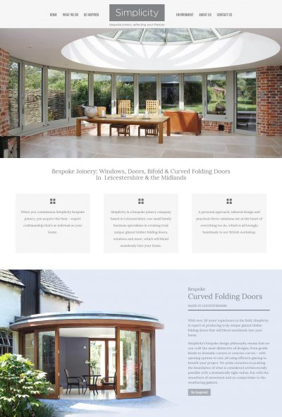 Bespoke Joiners Website